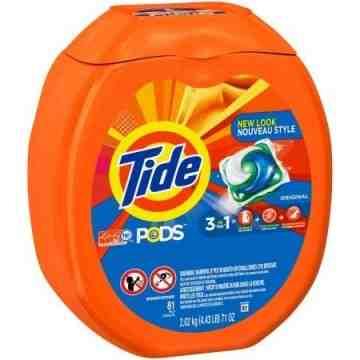 Tide - Liquid Pods Original Scent - 4/81ct