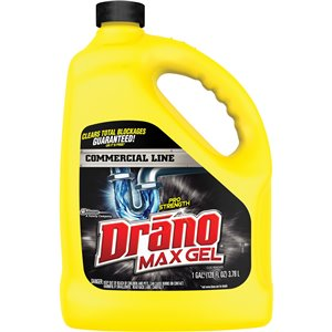 Drano® Max Gel Clog Remover Drain Cleaner Bottle 4L