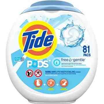 Tide - Liquid Pods Free & Gentle - 4/81ct