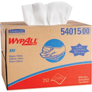 X60 Wipers, 252 / Box