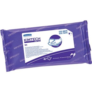 Kimtech™ Pure PreSat W4 Wipers