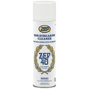 ZEP 40 Non-Streaking Multi-Surface Cleaner 18 oz