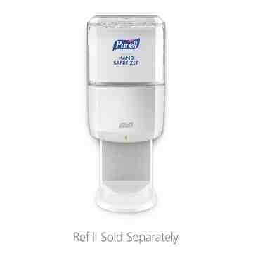 1200 mL White ES8 Touch-Free Hand Sanitizer Dispenser, 1/CS - 1