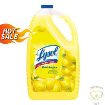 Lysol Multi-Surface Disinfectant Cleaner-Lemon, 4.26L CB893527 - 0-59631-78909
