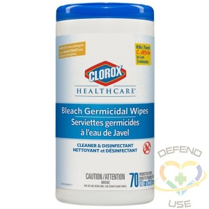 *Preorder: Clorox® Disinfecting Wipes, Bleach Canister - 6x70ct - 2