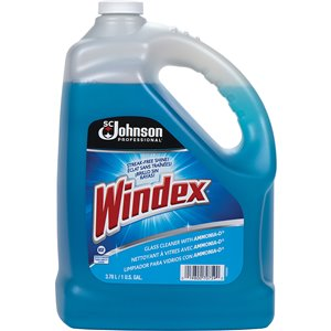 Windex® Glass Cleaner with Ammonia-D® Bottle 3.8L