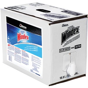 Windex® Glass Cleaner with Ammonia-D® Bottle 5 gal.