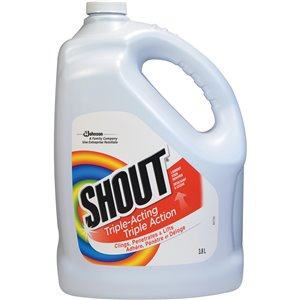 Shout® Laundry Stain Remover Refill Bottle 3.78 L