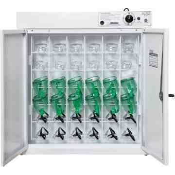"ULC Germicidal Eyewear Sanitizing Cabinet 26"" x 10"" x 29"", 36 Glasses - 2"