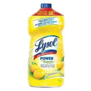 Lysol All Purpose Pourable Cleaner - Lemon - 9/1.2L [CB789096]